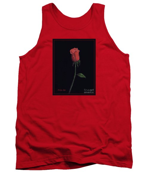 The Perfect Rose 2 Tank Top by Becky Lupe