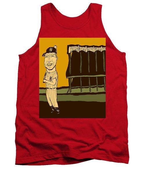 Mickey Mantle Yankee Stadium Tank Top