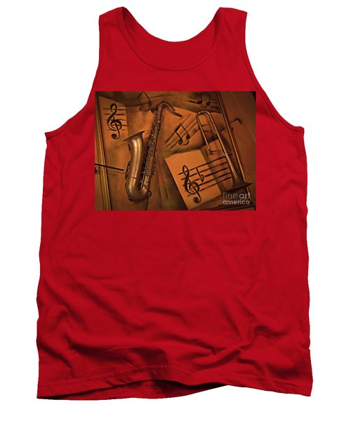 Midnight Music Tank Top
