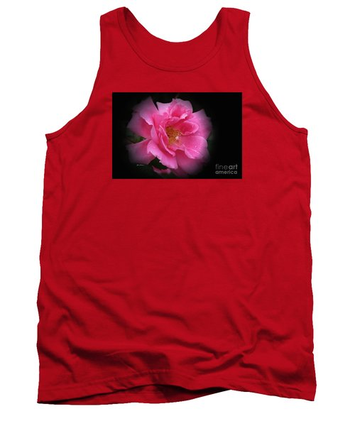 Midnight Rose Tank Top by Yumi Johnson