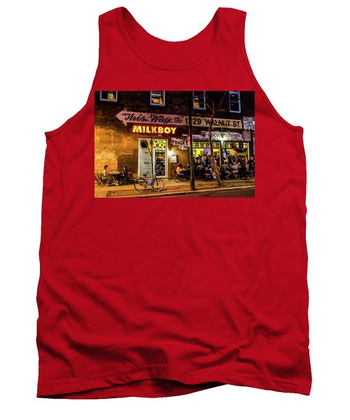 Tank Top featuring the photograph Milkboy - 1033 by David Sutton