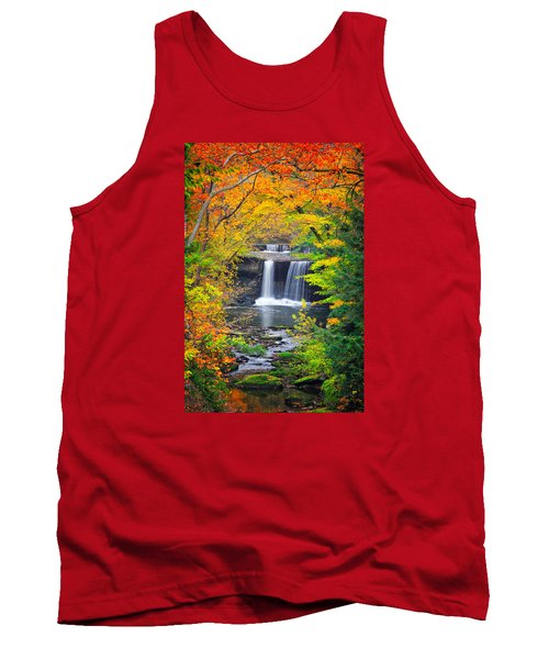 Mill Creek Fall  Tank Top