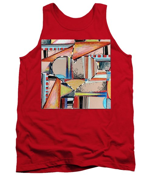 Mixed Messages Tank Top by Mindy Newman