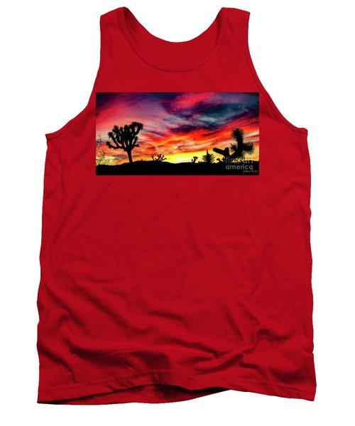 Mojave Sunset Tank Top