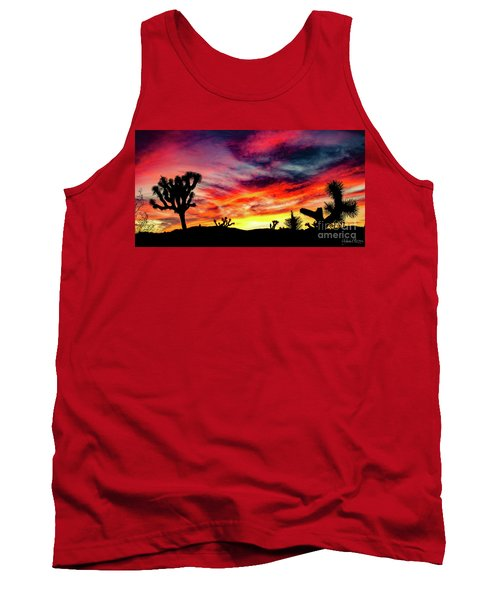 Mojave Sunset Tank Top