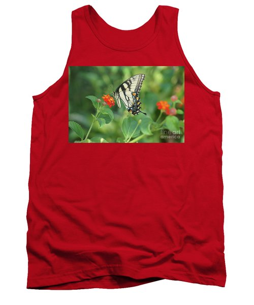 Tank Top featuring the painting Monarch Butterfly by Debra Crank