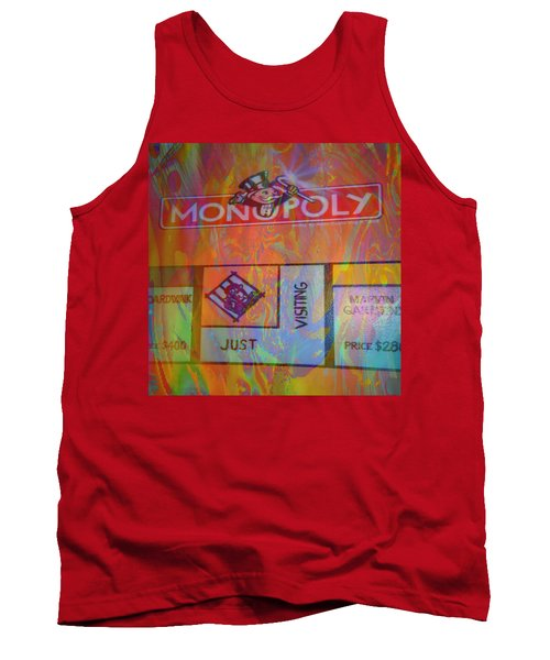 Monopoly Dream Tank Top by Kevin Caudill
