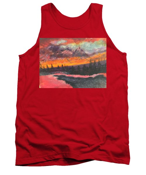 Montana Sunset Tank Top