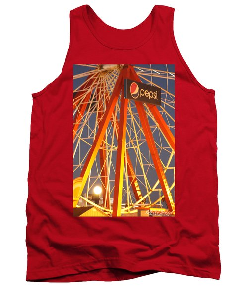 Moon And The Ferris Wheel Tank Top