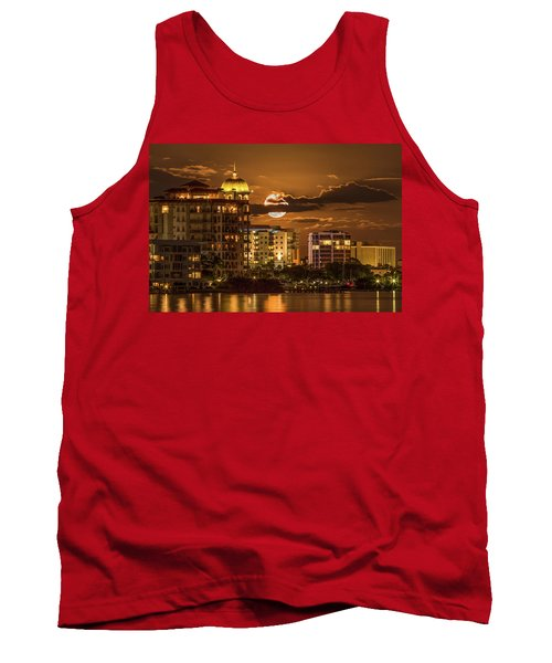 Moonrise Over Sarasota Tank Top