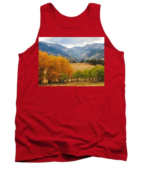 Moraine Park In Rocky Mountain National Park Tank Top
