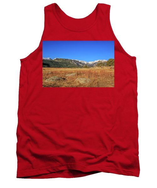Tank Top featuring the photograph Moraine Park In Rocky Mountain National Park by Peter Ciro