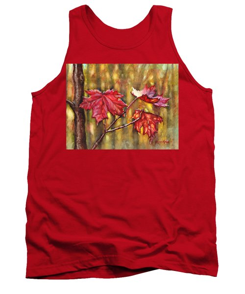 Morning After Autumn Rain Tank Top
