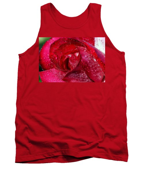 Morning Dew On Rose Tank Top