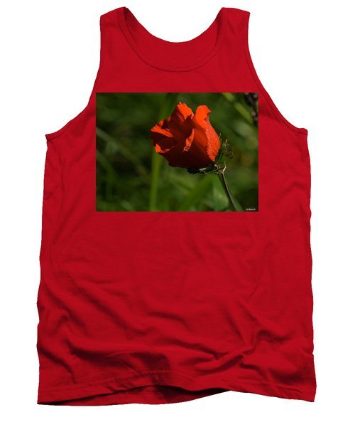 Morning Glory Tank Top by Uri Baruch
