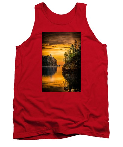 Tank Top featuring the photograph Morning Glow Against The Light by Rikk Flohr