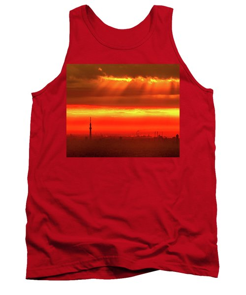 Tank Top featuring the photograph Morning Glow by Tatsuya Atarashi