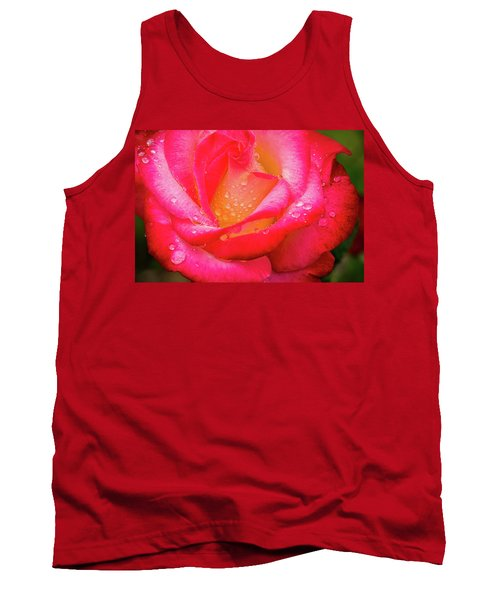 Morning Rose For You Tank Top by Ken Stanback