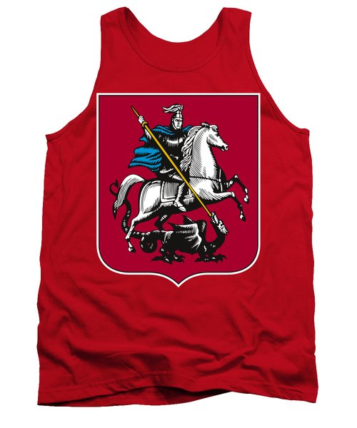 Moscow Coat Of Arms Tank Top by Frederick Holiday