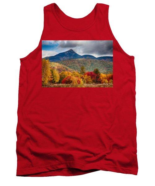 Peak Fall Colors On Mount Chocorua Tank Top