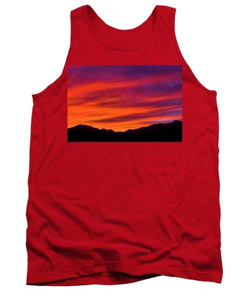 Mount Franklin Purple Sunset Tank Top