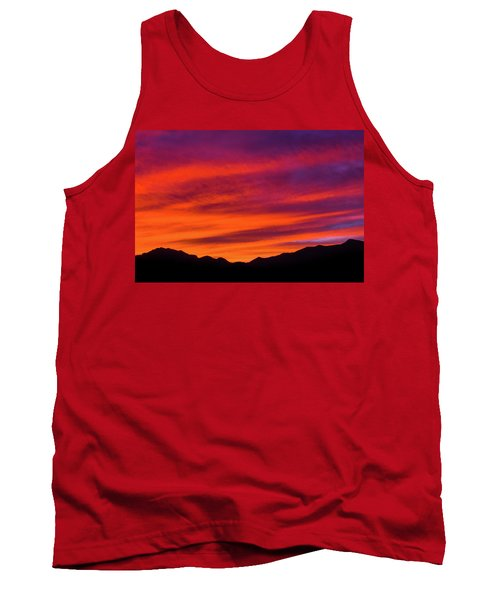 Mount Franklin Purple Sunset Tank Top