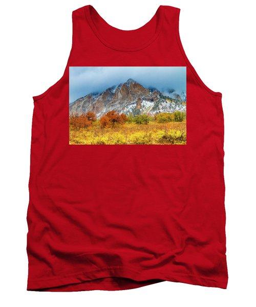 Mountain Autumn Color Tank Top