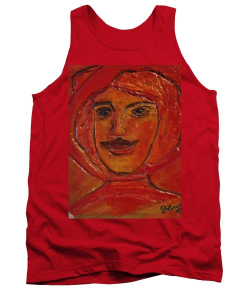 Moustached Prince Tank Top