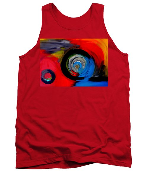Moving Through Time And Space Tank Top