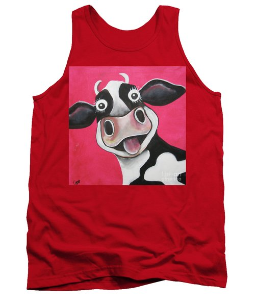 Mrs Cow Tank Top