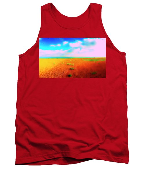 Mulberry Land Tank Top by Jan W Faul