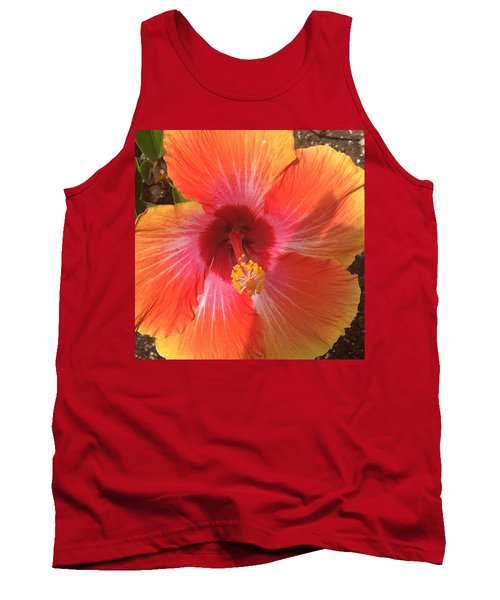 Multi-colored Beauty Tank Top