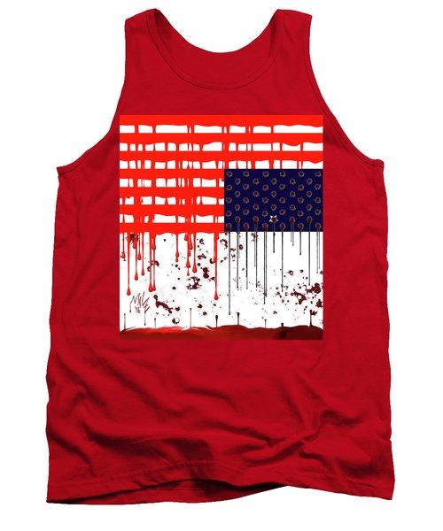 America In Distress Tank Top