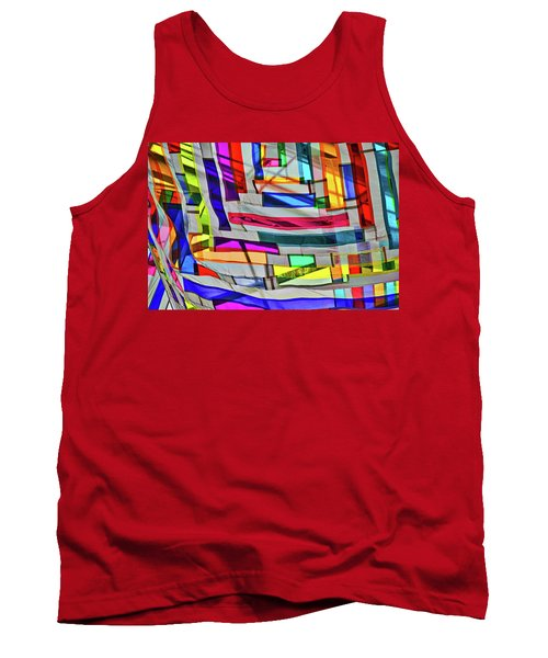 Museum Atrium Art Abstract Tank Top