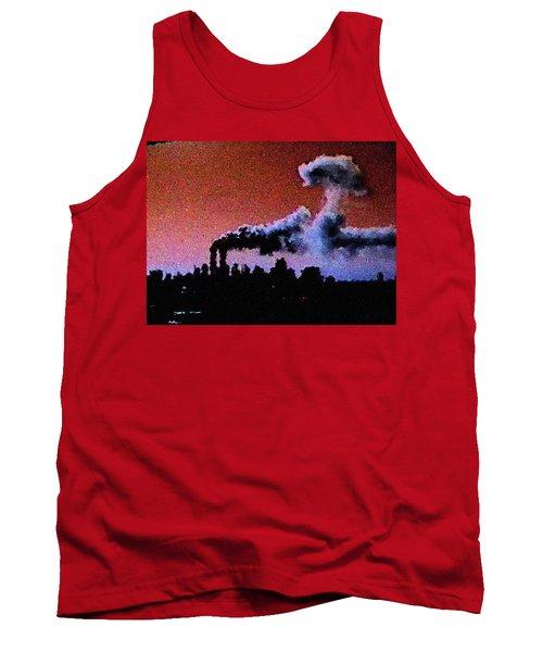 Mushroom Cloud From Flight 175 Tank Top