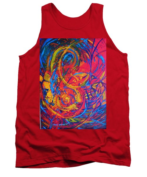 Music Tank Top by Jeanette Jarmon