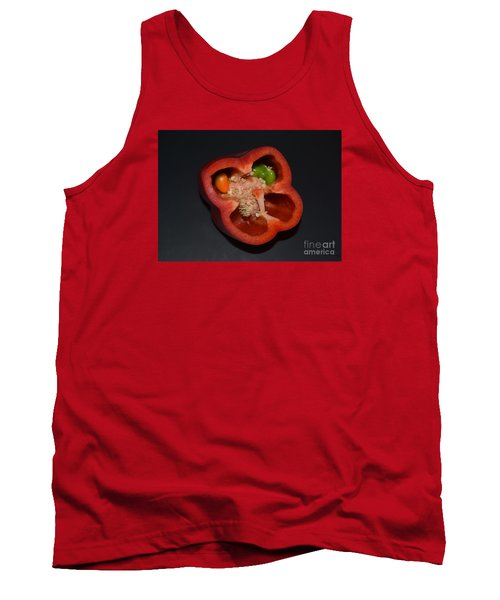 Mutant Pepper Tank Top by Melvin Turner