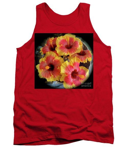My Hibiscus Garden Tank Top