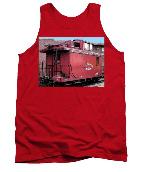 My Little Red Caboose Tank Top