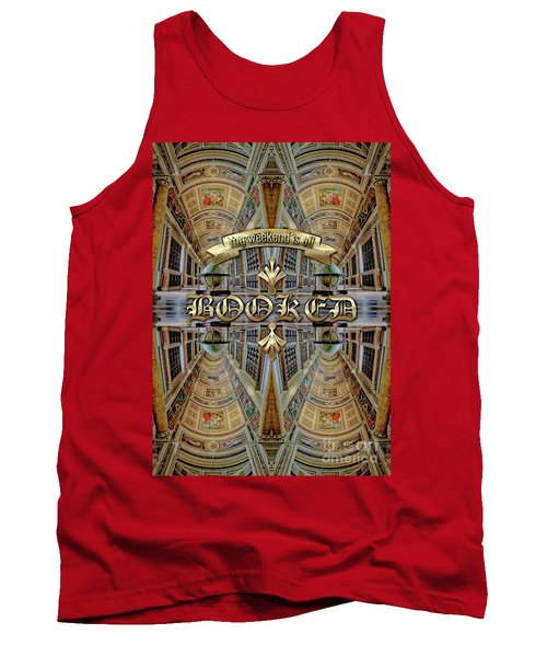 My Weekend Is All Booked Fontainebleau Chateau Library Tank Top