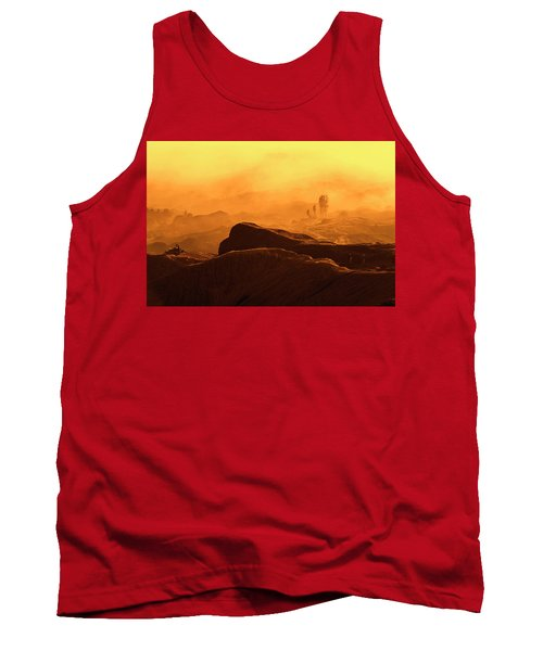 mystical view from Mt bromo Tank Top