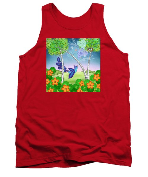 N Is For Nightingale Tank Top