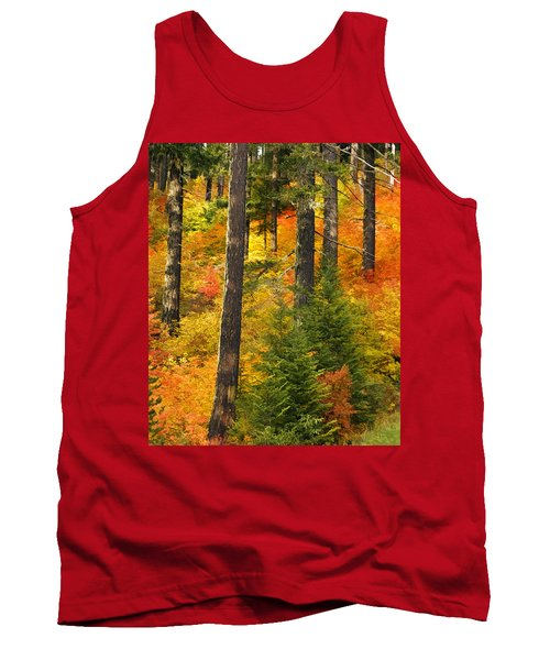 N W Autumn Tank Top by Wes and Dotty Weber