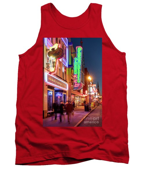 Tank Top featuring the photograph Nashville Signs II by Brian Jannsen