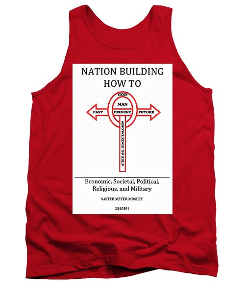 Nation Building How To Book Tank Top