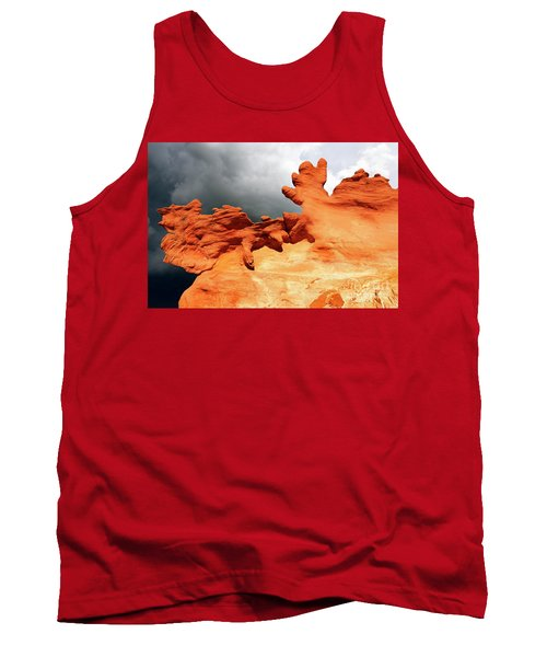 Tank Top featuring the photograph Nature's Artistry Nevada 2 by Bob Christopher