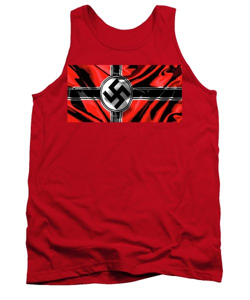 Nazi Flag Color Added 2016 Tank Top