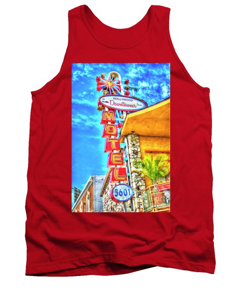 Neon Motel Sign Tank Top