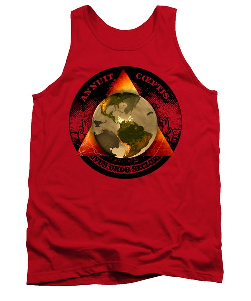 New World Order By Pierre Blanchard Tank Top