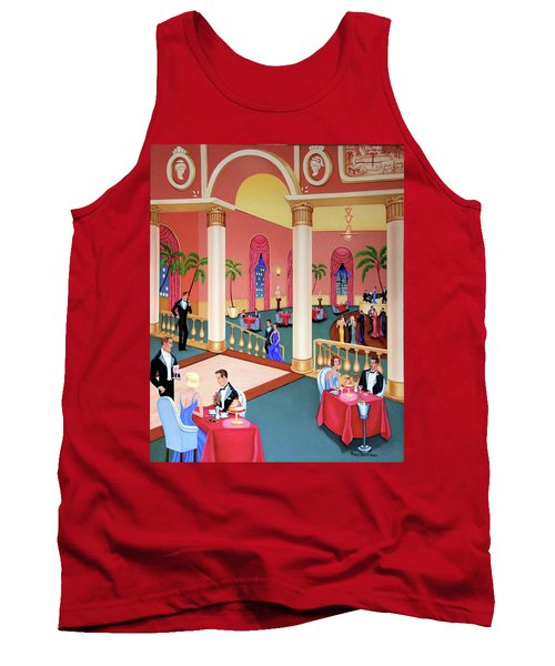 Night Life Tank Top by Tracy Dennison